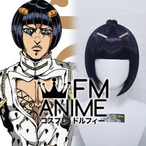 JoJo's Bizarre Adventure: Golden Wind Bruno Bucciarati Cosplay Wig