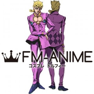 JoJo's Bizarre Adventure: Golden Wind Giorno Giovanna Cosplay Costume