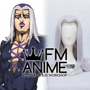 JoJo's Bizarre Adventure: Golden Wind Leone Abbacchio Cosplay Wig