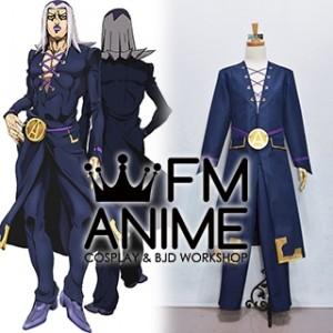 JoJo's Bizarre Adventure: Golden Wind Leone Abbacchio Cosplay Costume (Male L)