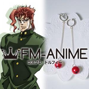 JoJo's Bizarre Adventure Noriaki Kakyoin Earrings Cosplay Accessories