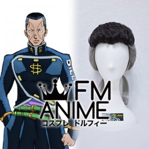 JoJo's Bizarre Adventure Okuyasu Nijimura Cosplay Wig