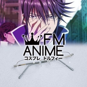 K Project (anime) Reisi Munakata Silver Glasses Cosplay Accessories