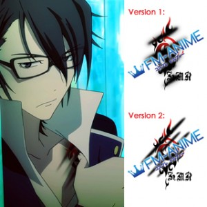 K Project (anime) Saruhiko Fushimi Homra Cosplay Tattoo Stickers