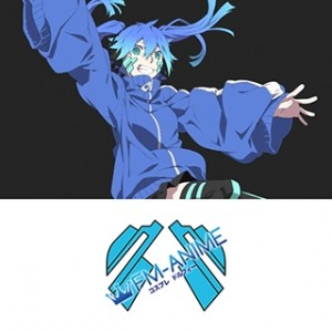 Kagerou Project Ene Cosplay Tattoo Stickers