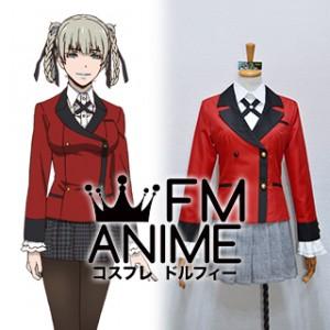 Kakegurui: Compulsive Gambler Kirari Momobami Uniform Cosplay Costume