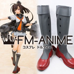 Kantai Collection Akizuki Cosplay Shoes Boots