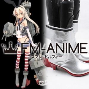 Kantai Collection Shimakaze Cosplay Shoes Boots