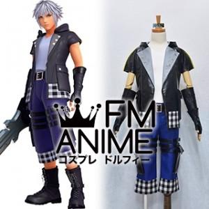 Kingdom Hearts III 3 Riku Cosplay Costume (Male M)