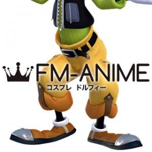 Kingdom Hearts III 3 Goofy Human Cosplay Shoes