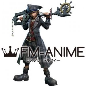 Kingdom Hearts III 3 Sora Pirates of the Caribbean Version Cosplay Costume