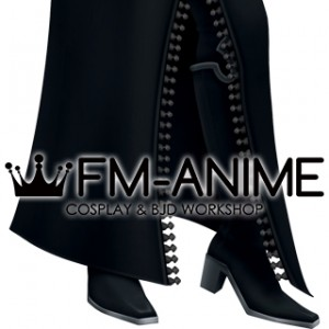 Kingdom Hearts Larxene Cosplay Shoes Boots