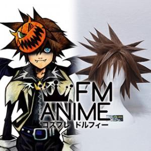 Kingdom Hearts 2 Sora Unstyled Cosplay Wig