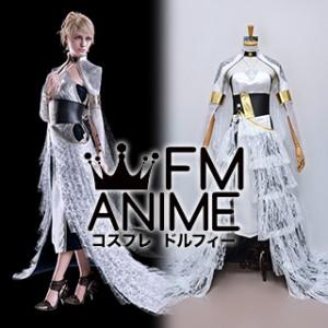 Kingsglaive: Final Fantasy XV Lunafreya Nox Fleuret Long Dress Cosplay Costume