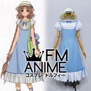Kobato. Kobato Hanato Blue Dress Cosplay Costume