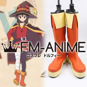 KonoSuba: God's Blessing on This Wonderful World! Megumin Cosplay Shoes Boots