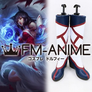 League of Legends Ahri Original Skin Cosplay Shoes Boots