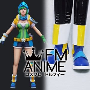 League of Legends Arcade Riven Cosplay Shoes Boots
