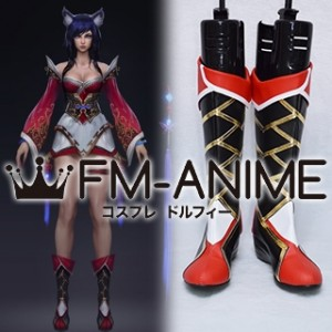 League of Legends Cinematic A New Dawn Ahri Cosplay Shoes Boots
