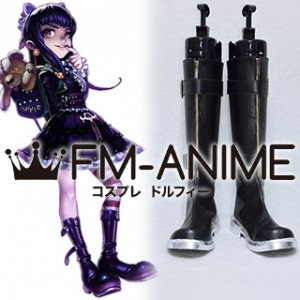 League of Legends Goth Annie Skin Cosplay Shoes Boots