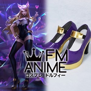 League of Legends K/DA Ahri Virtual K-pop Band Cosplay Shoes