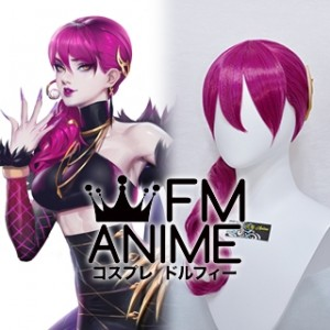 League of Legends K/DA Evelynn Virtual K-pop Band Cosplay Wig