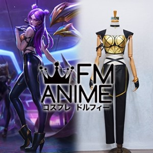 League of Legends K/DA Kai'Sa Virtual K-pop Band Cosplay Costume (Female M)
