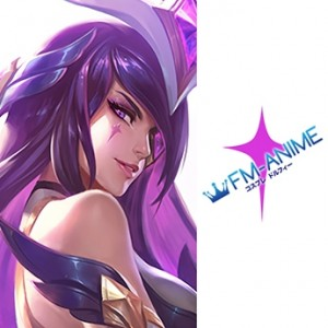 League of Legends Star Guardian Syndra Cosplay Tattoo Stickers
