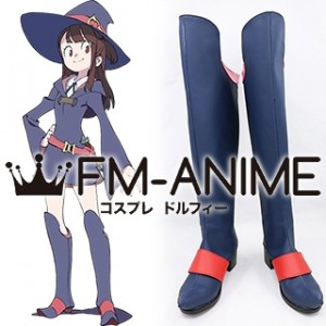 Little Witch Academia Atsuko Kagari Akko Cosplay Shoes Boots