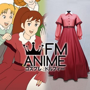 Little Women (Anime) Jo March Dress Cosplay Costume