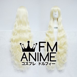 Long Length Wavy Light Gold Cosplay Wig (120cm)