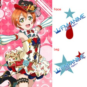 Love Live! Circus Cards Cosplay Tattoo Stickers