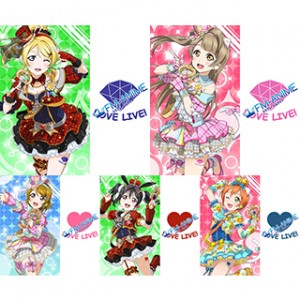 Love Live! Eli / Kotori / Hanayo / Nico / Rin Idol Cosplay Tattoo Stickers