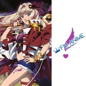 Macross Frontier Sheryl Nome Purple Cosplay Tattoo Stickers