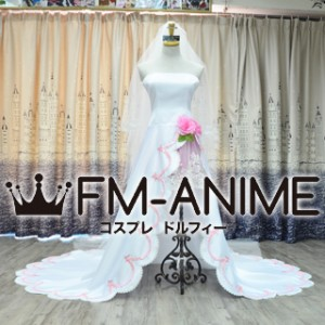 Macross Frontier Sheryl Nome Wedding Dress Cosplay Costume
