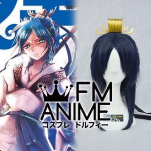 Magi: The Labyrinth of Magic Hakuryuu Ren Cosplay Wig