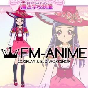 Mahou Tsukai Pretty Cure! Izayoi Riko Magical School Uniform Cosplay Costume