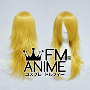 Medium Length Layered Mixed Gold Cosplay Wig