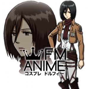 Attack on Titan Mikasa Ackerman Military Uniform Cosplay Costume