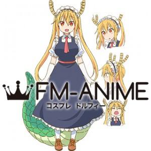 Miss Kobayashi's Dragon Maid Tohru Kobayashi Maid Dress Cosplay Costume