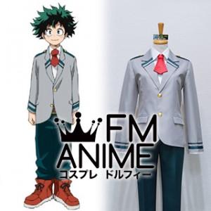 My Hero Academia Izuku Midoriya U.A. High School Male Uniform Cosplay Costume