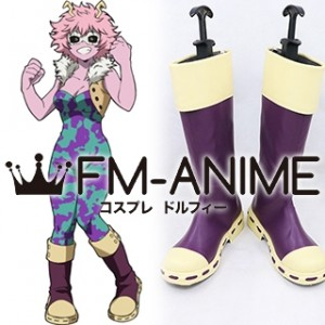 My Hero Academia Mina Ashido Cosplay Shoes Boots