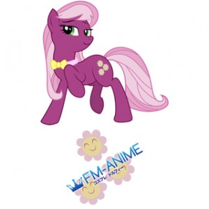My Little Pony Cheerilee Cutie Mark Cosplay Tattoo Stickers