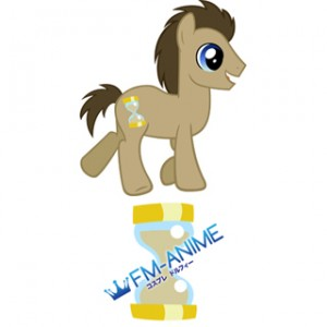 My Little Pony Dr Whoof Cutie Mark Cosplay Tattoo Stickers