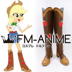 My Little Pony: Equestria Girls Applejack Cosplay Shoes Boots
