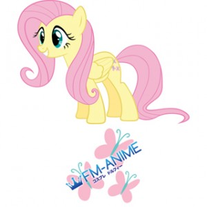 My Little Pony Fluttershy Cutie Mark Cosplay Tattoo Stickers