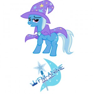 My Little Pony Great and Powerful Trixie Cutie Mark Cosplay Tattoo Stickers