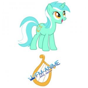 My Little Pony Lyra Cutie Mark Cosplay Tattoo Stickers