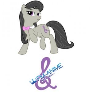 My Little Pony Octavia Cutie Mark Cosplay Tattoo Stickers