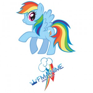 My Little Pony Rainbow Dash Cutie Mark Cosplay Tattoo Stickers